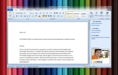 Download do Word e Excel 2010 gratis completo