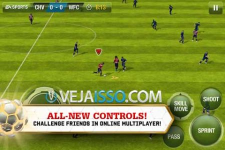 Novo Fifa 13 traz controles mais fluidos, parecendo o do video game, maior inteligencia do adversario e melhorias ENORMES na jogabilidade