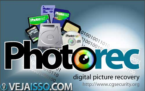 PhotoRec o programa mais completo e potente para recuperar fotos deletadas no Windows, Mac e Linux
